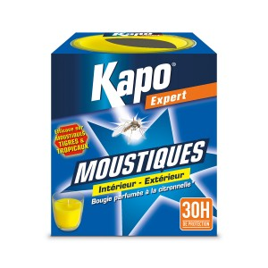 bougie insecticide anti moustiques  KAPO
