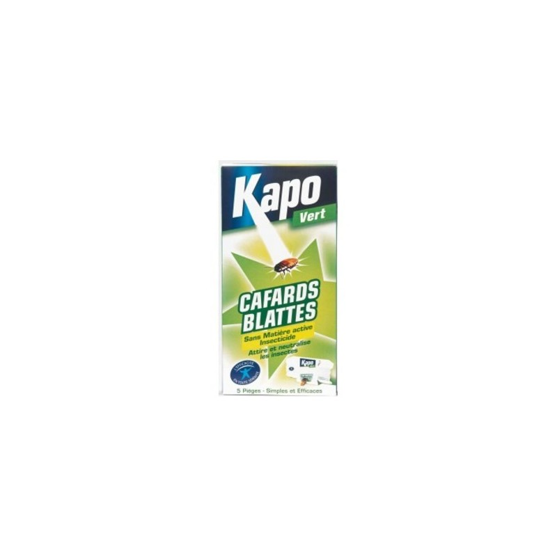 Achat pi ges cafards et blattes kapo insecticide cafards - Piege a cafard ...