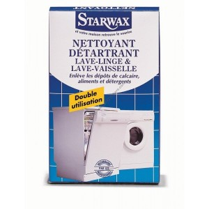 achat nettoyant d tartrant lave linge lave vaisselle starwax petit prix livraison rapide. Black Bedroom Furniture Sets. Home Design Ideas