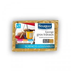 Eponge végétale STARWAX ( gros travaux)