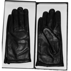 gants agneau noir pour Homme Réf : HA17
