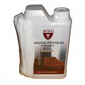 Produit nettoyant textiles AVEL