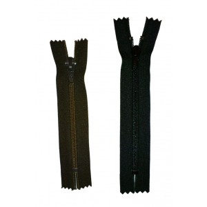 Fermeture à glissière nylon