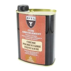 achat cr me pigmentaire teintante pour cuir d 39 ameublement avel entretien cuir. Black Bedroom Furniture Sets. Home Design Ideas