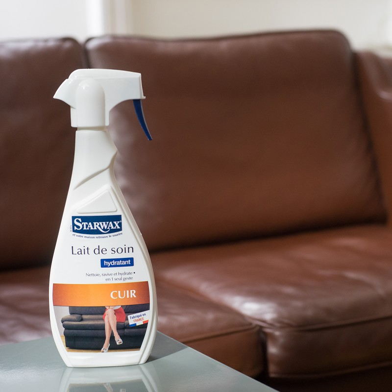 acheter le lait de soin pour cuir starwax pour l 39 entretien des plus beau cuirs. Black Bedroom Furniture Sets. Home Design Ideas