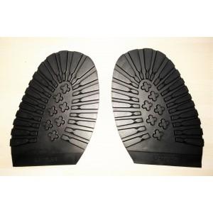 Semelles crantée pour chaussures