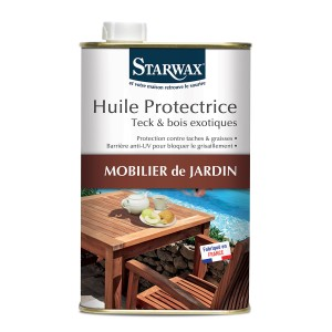 HUILE PROTECTRICE TECK BOIS EXOTIQUES 500ML