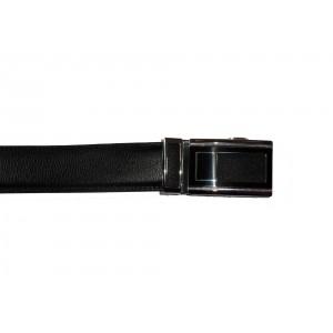 ceinture à boucle automatique cuir veritable noir