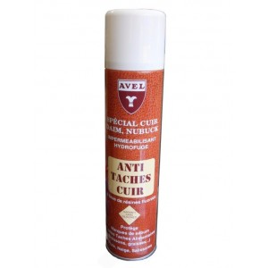 Imperméabilisant anti- taches cuir AVEL spray 400ml