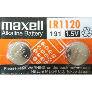 piles bouton alcalines LR1120 1,5V