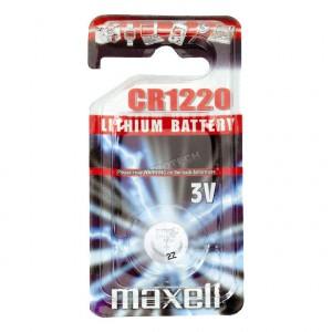 Piles bouton 3v Lithium CR1220