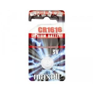Piles bouton 3v Lithium CR1616
