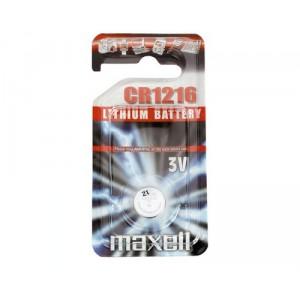 Piles bouton 3v Lithium CR1216