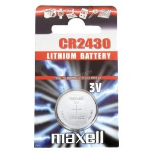 Piles bouton 3v Lithium CR2430