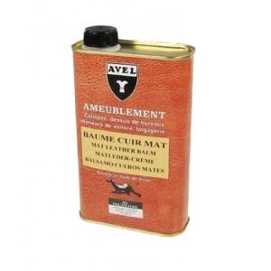 Baume entretien cuir mat AVEL