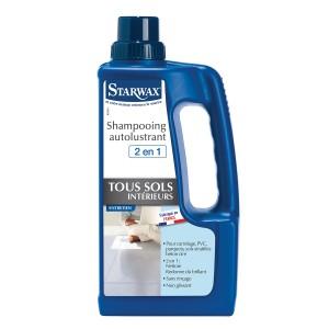 Shampoing brillant sols carrelés STARWAX 1l
