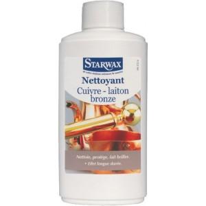 Nettoyant spécial cuivre-laiton-bronze STARWAX 250ml