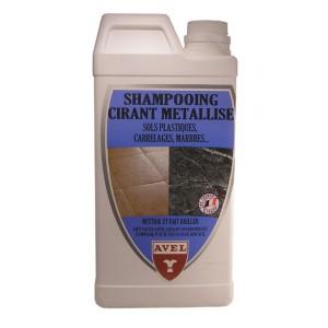 Shampoing cirant sols plastiques et carrelages AVEL 1litre