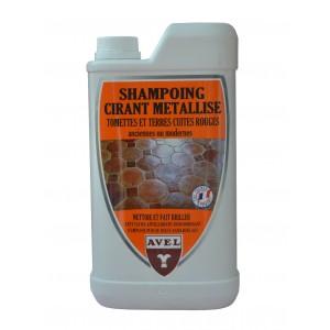 Shampoing cirant métallisé tomettes AVEL (1litre)