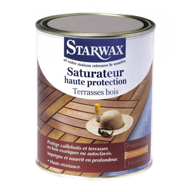 Achat Saturateur bois STARWAX  Protection du bois  Droguerie
