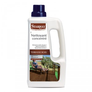 Nettoyant terrasses bois STARWAX
